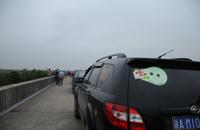 车队抵达海盐北团村卷心菜基地