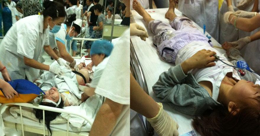 医院抢救伤员