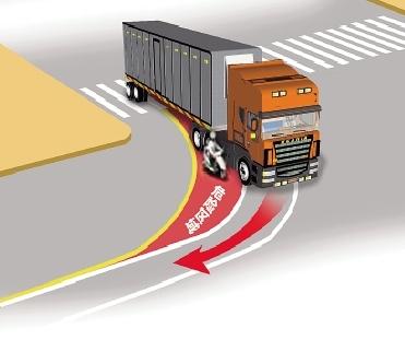 右转弯闯红灯图解320国道
