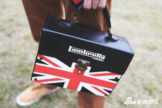 米字旗箱子包包