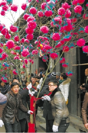茶花,牡丹,芙蓉,菊花,荷花,玫瑰等各种各样的花树,真的假的,汇聚到