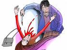 妻子喊情人被丈夫捅伤