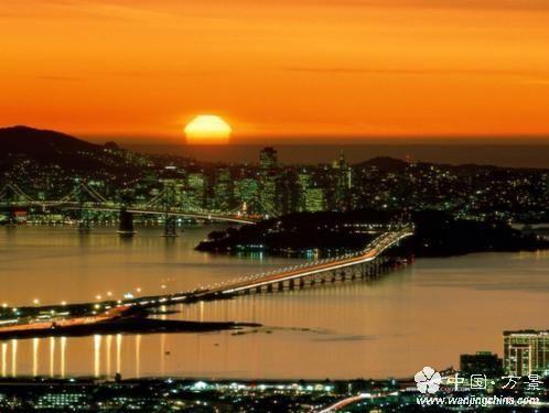 洛杉矶夜景