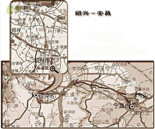 安昌交通图