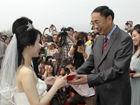 大学校长为毕业生证婚