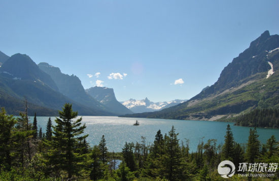 冰河国家公园——蒙大纳,美国