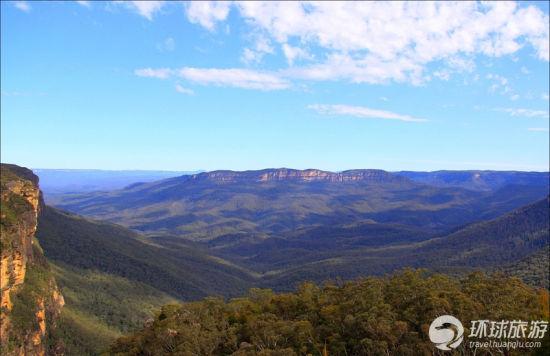 蓝岭国家公园——新南威尔士州,澳大利亚