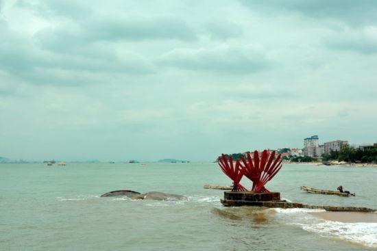 村口标志性红桨