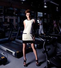 健身房里的酷感时尚