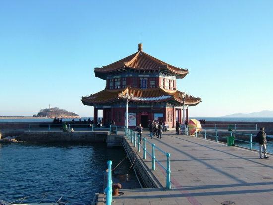 青岛栈桥景区
