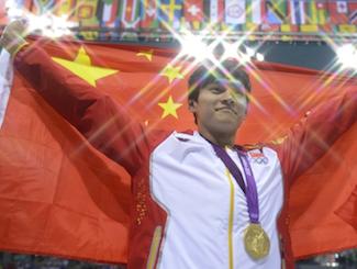 孙杨奥运会收获2金1银1铜 送祝福