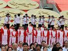 奥运金牌运动员访香港