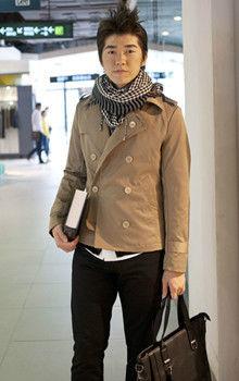 时尚休闲格子围巾