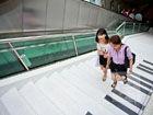 杭州武林广场楼梯变钢琴