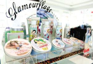 组图:杭城经典化妆品代购店