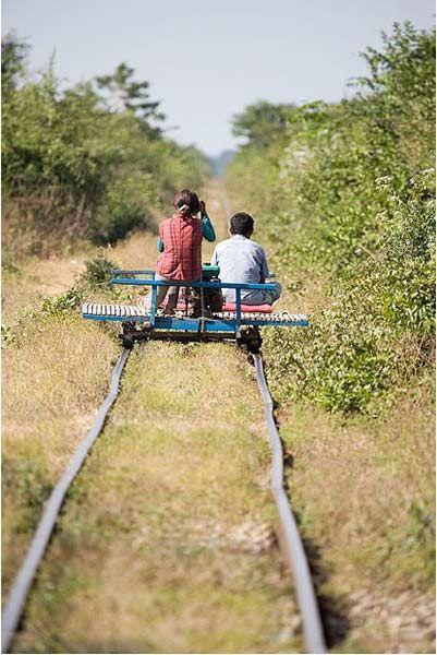 竹列车,柬埔寨