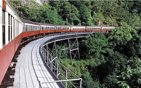 Kurunda Scenic Railway,澳大利亚