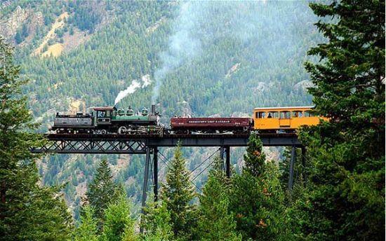 乔治敦环形铁路,美国