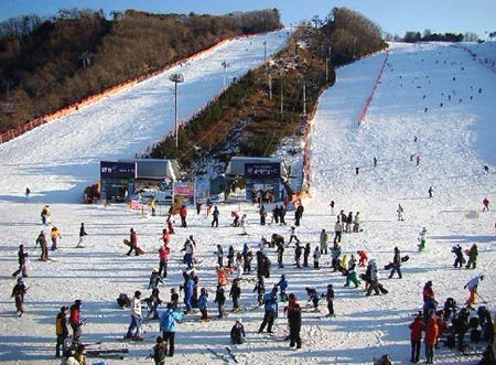 大明山滑雪场(点击更多高清美图)