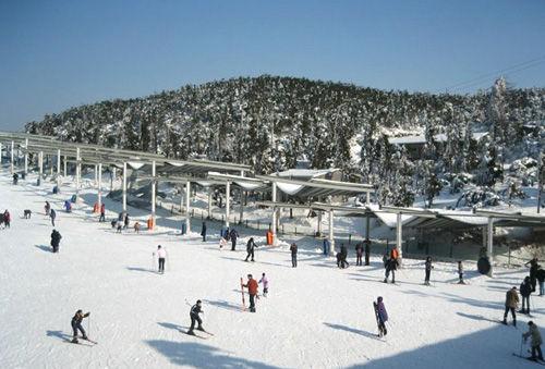 商量岗滑雪场(点击更多高清美图)