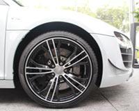 5辐双臂Y型黑色高光锻铝车轮