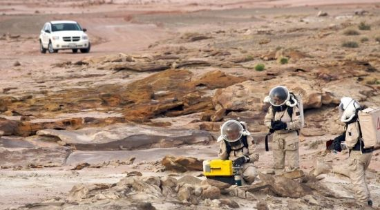 美国犹他州火星基地