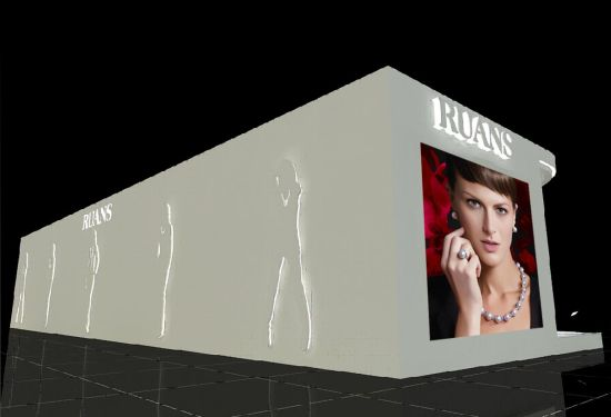 创意的展厅也将在竞相比拼奢华的珠宝展现场令人耳目图片