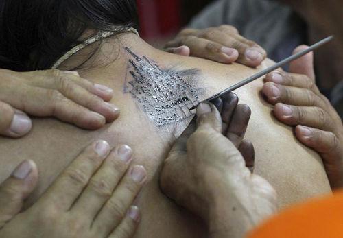 3月 泰国纹身节