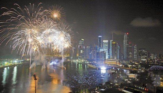 新加坡: 热带跨年闹狂欢(点击更多高清美图)