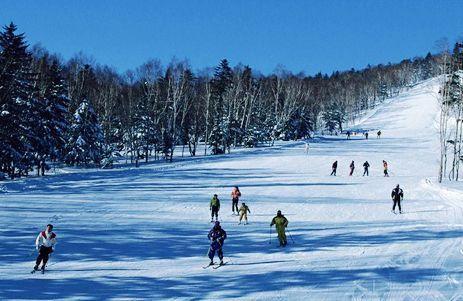 大明山高山滑雪场(点击更多高清美图)