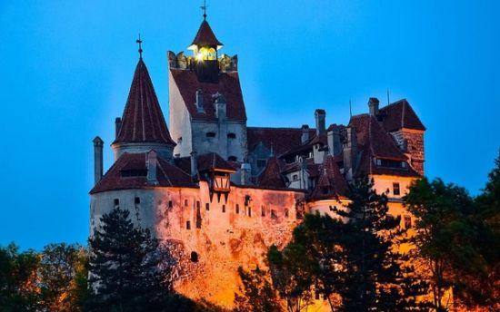 马克笔手绘皇家城堡
