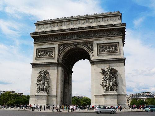 法国凯旋门(点击更多高清美图)