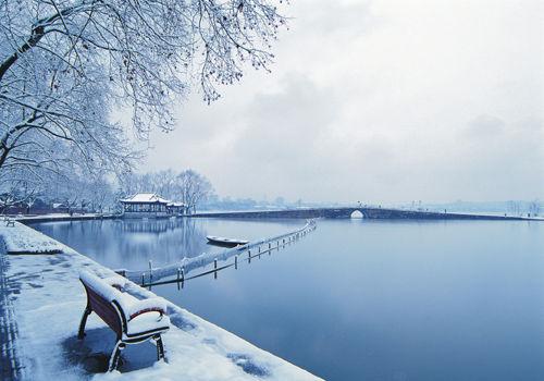 雪中西湖(点击更多高清美图)