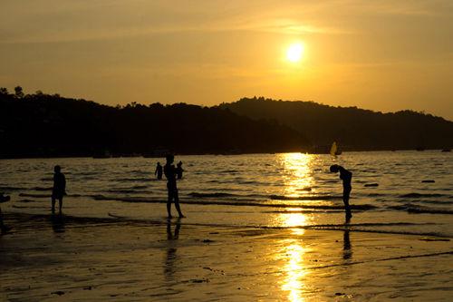 普吉岛的黄昏(点击更多高清美图)