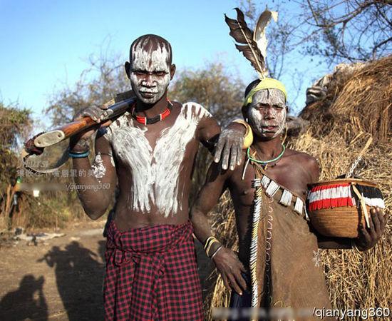 颇具攻击性的穆西部族