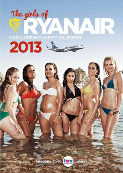 组图:爱尔兰空姐2013日历性感出击