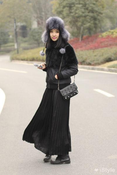 组图:街拍杭州上海美女裙子飘飘仙女范
