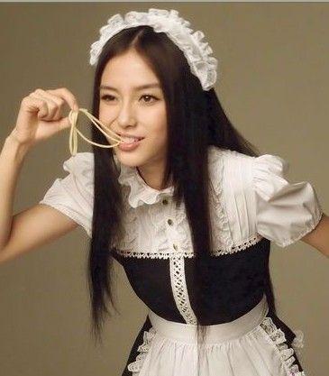 组图:杭州诱人女仆餐厅分辨正经的日本女仆店