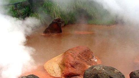 血池地狱(Chinoike Jigoku)