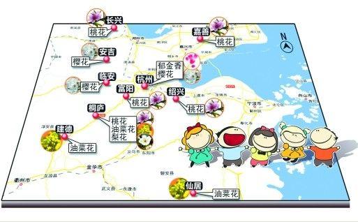 杭州市旅游地图高清版_杭州旅游手绘地图
