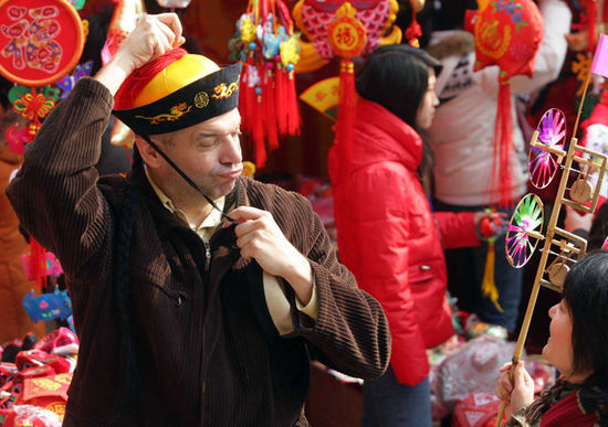 文瀛公园:过节不忘革命教育