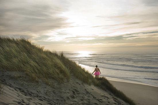 在海边(点击更多高清美图)
