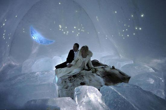 冰雪旅馆婚礼(点击更多高清美图)