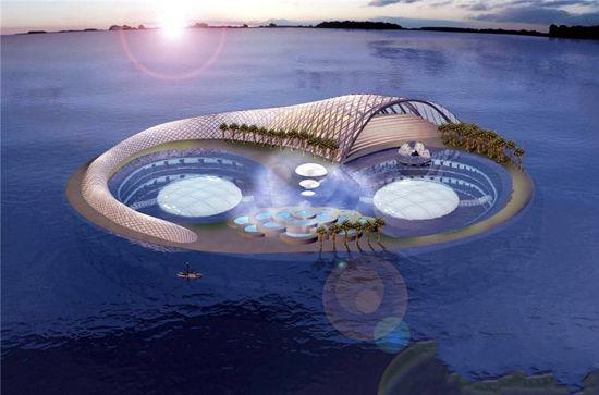 五星级水下旅馆(点击更多高清美图)