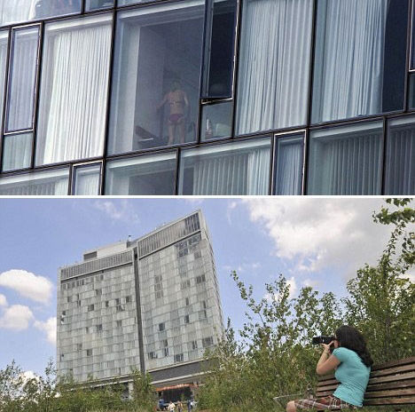 酒店透明玻璃窗(点击更多高清美图)