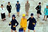 世界空姐制服发展史