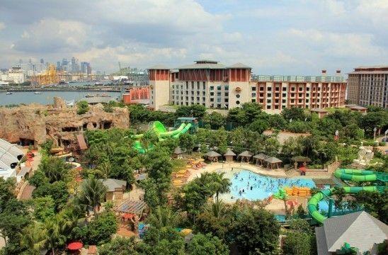 新加坡圣淘沙名胜世界全景(点击更多高清美图)