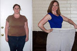 减肥达人晒减肥前后对比照