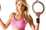 超模坎蒂丝-斯瓦内普尔性感健身