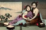日本半裸舞女百年旧照